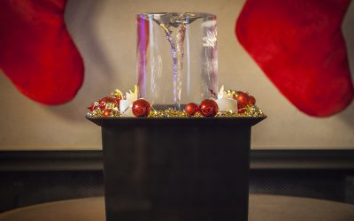 Quox Creek Vortex Fountain Offers FREE SHIPPING for Christmas!