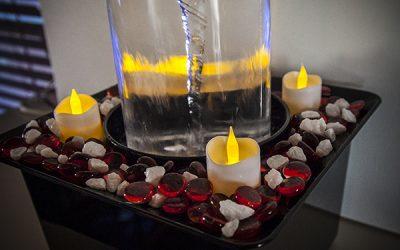 The Vortex Fountain Celebrates Valentine's Day