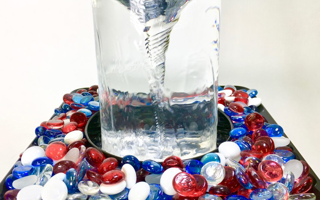 Show Your Patriotism with the Vortex Fountain