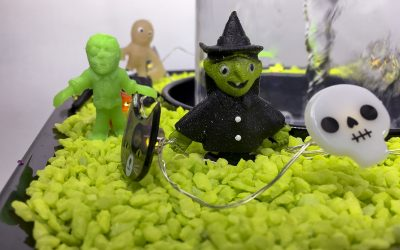 Halloween with the Vortex Fountain