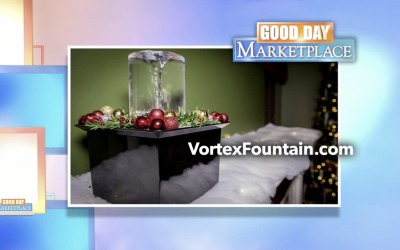 Quox Creek Vortex Fountain Appears on FOX28